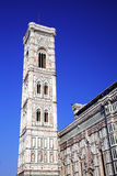 Campanille de la catedral Santa María del Fiore Fotos de archivo