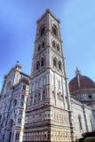 Campanille de la catedral Santa María del Fiore Imagen de archivo libre de regalías