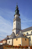 Campanille of Jasna Gora Monastery. Czestochowa, Poland royalty free stock photo