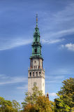 Campanille of Jasna Gora Monastery. Czestochowa, Poland Stock Images