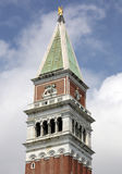 The Campanille on San Marco Square in Venice, Italy. Stock Images