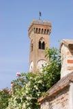Campanone in Santarcangelo di Romagna (Italy) Stock Photography