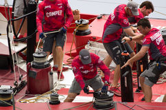 Camparebrämen seglar Royaltyfria Bilder
