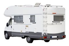 campareskåpbil Arkivbild