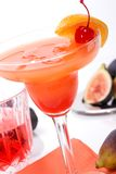 Campari cocktail Royalty Free Stock Photography