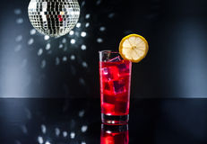 Campari cocktail in Disco setting Stock Photos