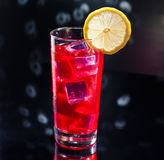 Campari cocktail in Disco setting Stock Photo