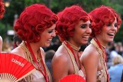Campari Girls stock photography