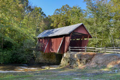 Campbell's covered bridge,. Campbell's covered bridge,nBuilt in 1909, and is the last extant covered bridge in SC. The bridge is 35 feet long and 12 feet Stock Photos
