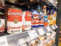 Campbell's tomato soup Stock Photos