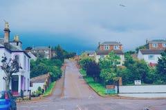 Campbell-Stadt Stockfotografie