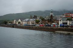 Campbeltown shorefront Stock Photos