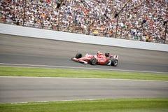 Campeão 2008 de Indy 500 Scott Dixon Foto de Stock Royalty Free