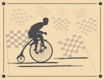 Campeão do ciclismo da velocidade e da glória Fotos de Stock