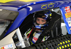 Campeão Jimmie Johnson de NASCAR imagens de stock