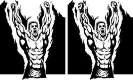 Campeón stock de ilustración