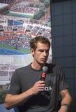 Campeón Andy Murray del Grand Slam de dos veces en  Imagen de archivo