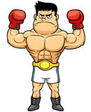 Campeón del boxeo ilustración del vector