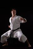 Campeón del hombre del karate del mundo fotografía de archivo libre de regalías