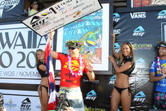 Campeón hawaiano 2009 del filón favorable Imagen de archivo libre de regalías
