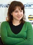 Campeón Irina Slutskay del mundo Foto de archivo libre de regalías