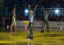 Campeón olímpico en patinaje artístico Alexei Yagudin. Imagen de archivo libre de regalías