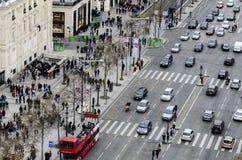Campeões Elysees, Paris Imagem de Stock Royalty Free