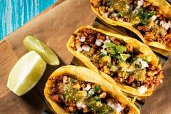 Campechanos mexicanos dos tacos Foto de Stock
