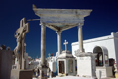 Campeche cemetery Royalty Free Stock Images