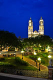 Campeche Central Park Royalty Free Stock Photo