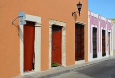 Campeche City in Mexico Stock Image