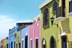 Campeche City in Mexico Stock Photos