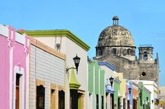 Campeche City in Mexico Royalty Free Stock Photo