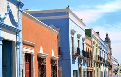 Campeche City in Mexico stock images