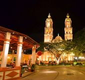 campeche mexico arkivfoto