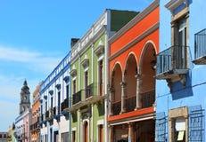 Campeche stad i Mexico fotografering för bildbyråer