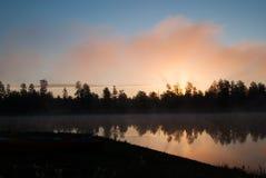 Campeggi del lago white Horse, Williams, AZ Fotografia Stock