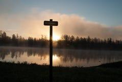 Campeggi del lago white Horse, Williams, AZ Fotografia Stock Libera da Diritti