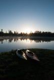 Campeggi del lago white Horse, Williams, AZ Fotografie Stock