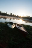 Campeggi del lago white Horse, Williams, AZ Immagini Stock Libere da Diritti