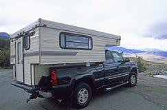 Campeggiatore 1 del camion Fotografie Stock