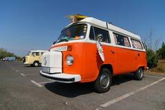 Campeggiatore di Volkswagen Vestfalia fotografie stock
