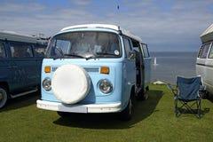 Campeggiatore Van di VW Fotografia Stock Libera da Diritti