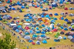 Campeggiatori 1 fotografia stock libera da diritti