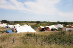 Campeggio Fotografie Stock