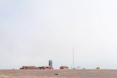 Campeggio Mile-108 fra Ugabmund e la baia di Henties Fotografie Stock