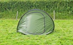 Campeggio verde Fotografia Stock Libera da Diritti