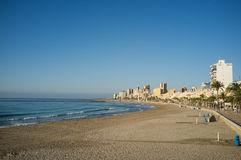 Campello beach Royalty Free Stock Images