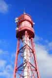 Campen灯塔,德国 免版税库存照片