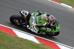 Campeonato 2008 do mundo de Superbike Fotografia de Stock Royalty Free